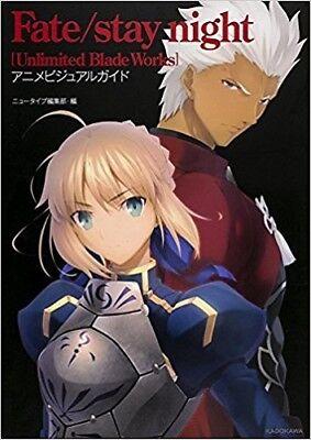 Fate//Zero Anime Visual Guide 1 I Japanese Artbook  Illustration Book US Seller
