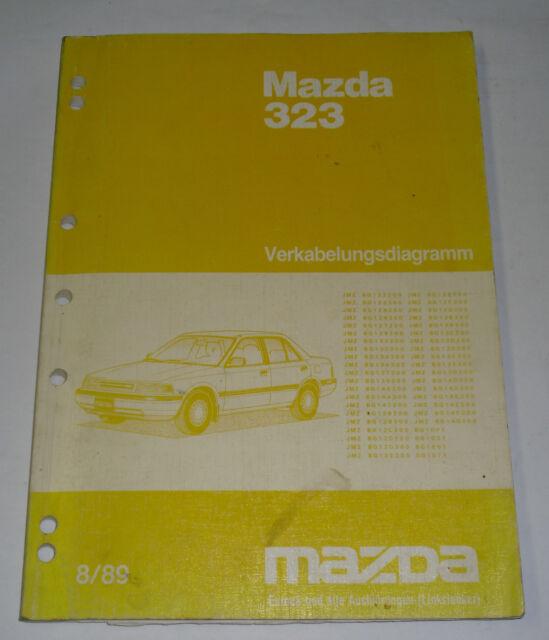 Workshop Manual Mazda 323 Type Bg Wiring Diagrams