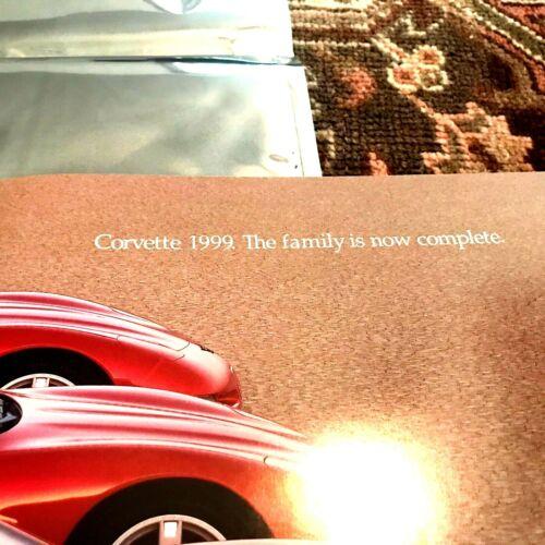 Chevrolet Corvette Dealer Sales Brochure 1999 NEVER OPENED
