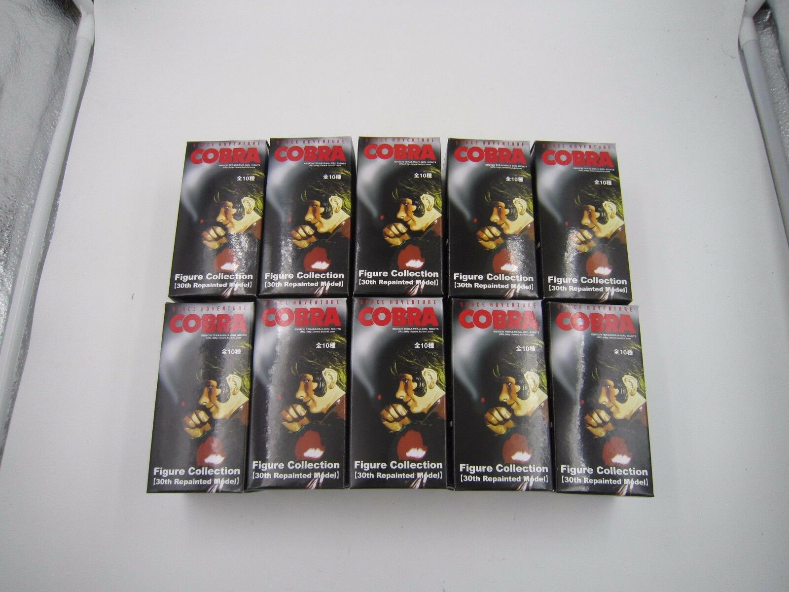 Space Adventure Cobra The Space Pirate 30th Repainted Figure Collection Full Set