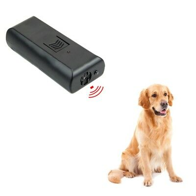 Humanely Ultrasonic Stop Control Dog Barking Anti-Bark Device Training Repeller