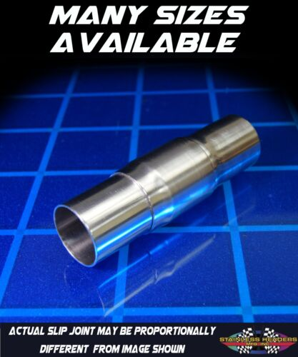 304 Stainless Exhaust Header Double Slip Joint 3 1//2/""