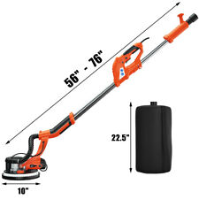 750w Electric Drywall Sander Adjustable Variable Speed With Vacuum Amp Led Light
