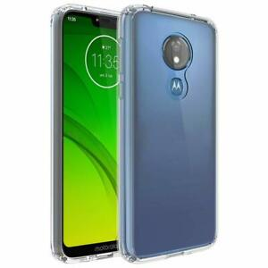 Fits Motorola Moto G7 Power G7 Supra Optimo Maxx Case Thin Clear Tpu Back Cover Ebay