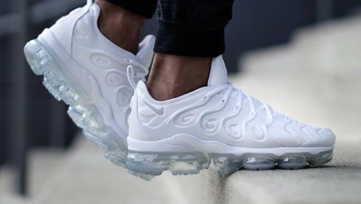Triple White Nike Vapormax Tn   Limited Stock Available Seasonal price cuts, discount benefits