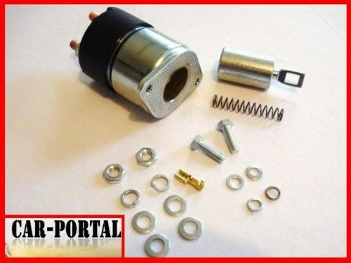 NEU RS09 GT122 GT124 Multicar Anlasser Magnetschalter Starter ZUGMAGNET 3PS
