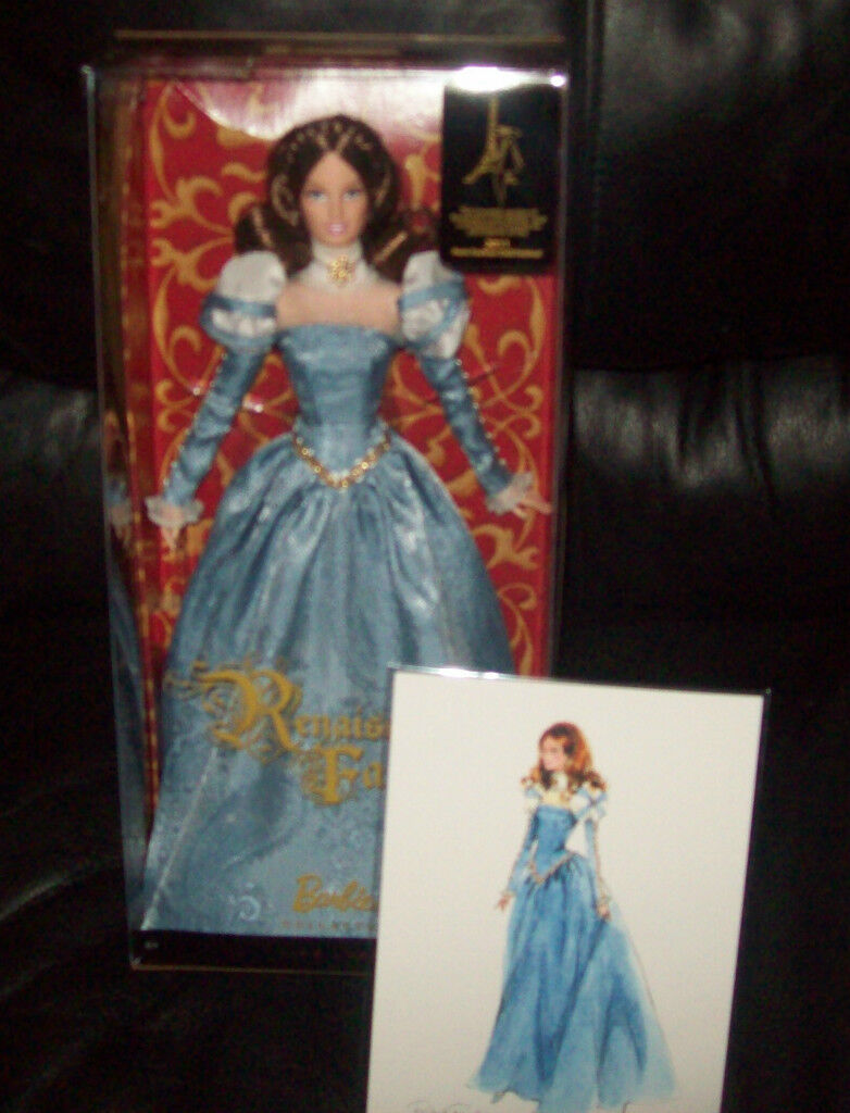2011 Raro Platinum RENACIMIENTO FAIRE Convenio Barbie Nuevo En Caja