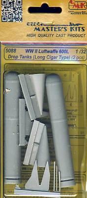 cmk Drop tanks 600I Luftwaffe for Ju-88 He-111 Zusatztanks 1:48 Modell-Bausatz