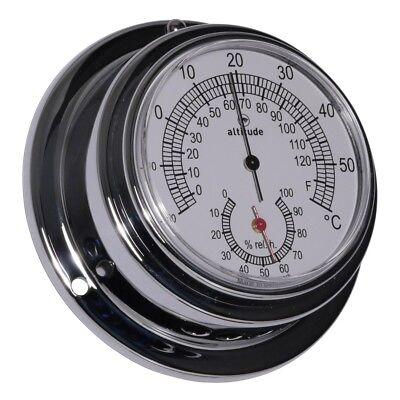Haushaltsgeräte Bootsteile & Zubehör Begeistert Altitude 843th Schiffsthermometer Hygrometer Chrom 95mm Bequem Und Einfach Zu Tragen