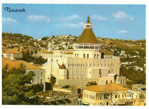Nazareth, The Church of the Annunciation, Israel, Palestine Rare Postcard