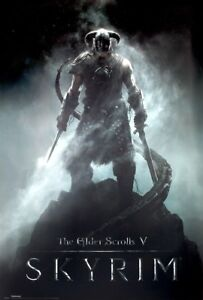 The Elder Scrolls: Skyrim POSTER Dragon Blood 61x91.5cm | eBay