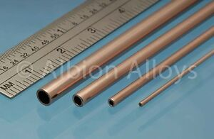 Dynamique Albion Alloys Round Copper Tube 305 Mm Length Scratch Building Detailing