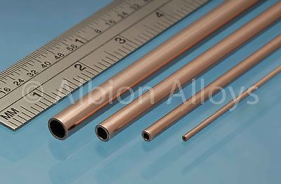 Albion Alloys Round Copper Tube 305 Mm Length Scratch Building Detailing
