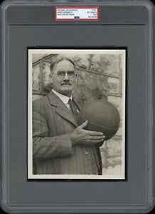 James-Naismith-1929-Kansas-Type-1-Original-Photo-PSA-DNA-Basketball-Inventor