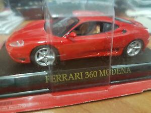 Ferrari-360-Modena-Rossa-Scala-1-43-DeAgostini-Nuova