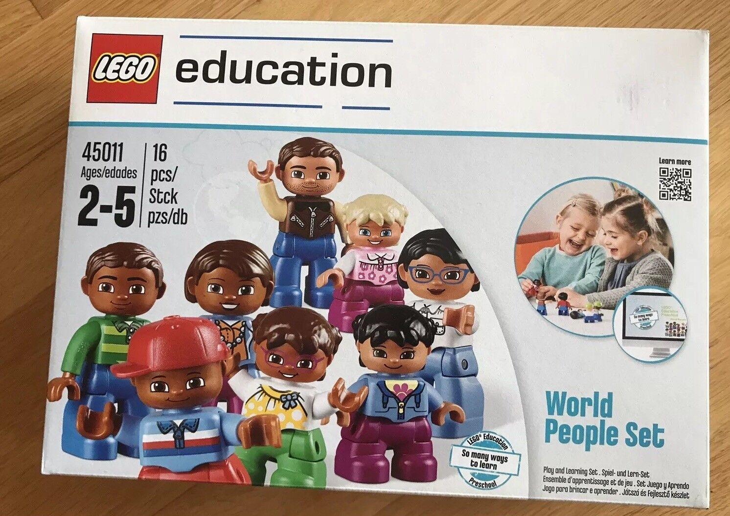 Lego Duplo Education 45011 - World People Set - Neu  OVP  seald