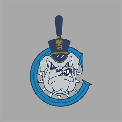The Citadel Bulldogs NCAA College Vinyl Sticker Decal Car Window Wall