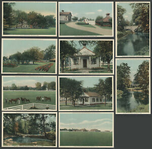 Gwynedd-Valley-PA-c-1920s-Normandy-Farm-set-of-10-Postcards