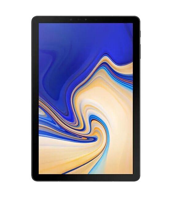 "Good Verizon SM-T837V Black 64GB Samsung Galaxy Tab S4 10.5"" WiFi   4G Tablet"