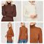 Donna-Da-Donna-Alta-Qualita-Dolcevita-lavorato-a-maglia-maglione-manica-lunga-Tops miniatura 1
