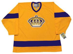 39c85c62 LOS ANGELES KINGS 1967 CCM Vintage Throwback NHL Hockey Jersey   eBay