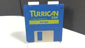TURRICAN-by-Factor-5-100-Original-Amiga-Spiel-VGC-Collectible-Rainbow-Arts
