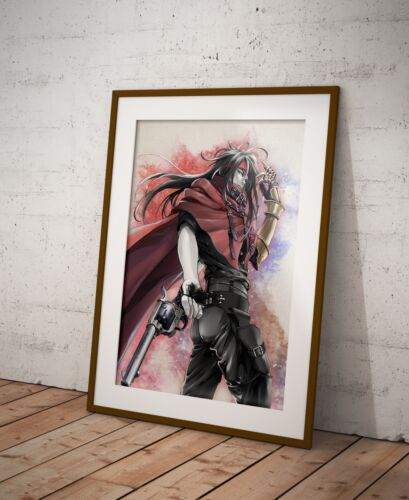 Final Fantasy Vincent Poster Watercolor Wall Decor Game Print Poster Gift R10