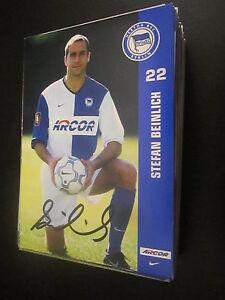 47725-Stefan-Beinlich-Hertha-BSC-01-02-DFB-original-signierte-Autogrammkarte