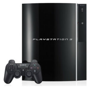 Playstation-3-PS3-Backwards-Compatible-80GB-well-kept-2-controllers-all-wires