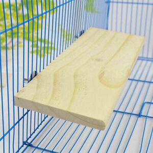Wooden-Cockatiel-Parrot-Bird-Cage-Perches-Stand-Platform-Pet-Hanging-Budgie-V3A1