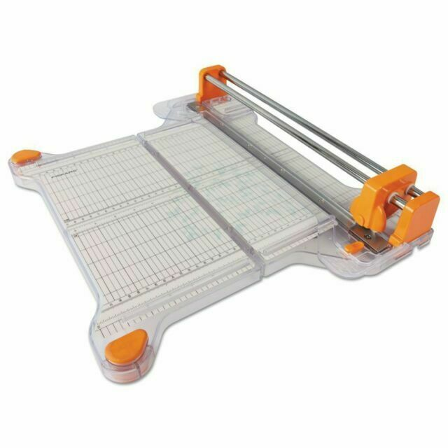 TABLETOP CRAFT FABRIC/PAPER CUTTER - Fiskars Precision Rotar