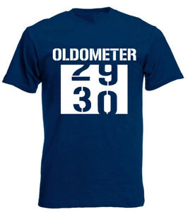 Image Is Loading Oldometer 30 T Shirt Funny Mens 30th Birthday
