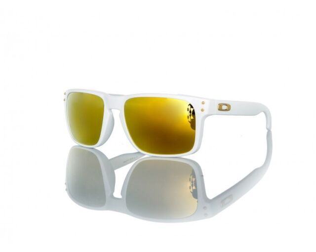 83eb625696 Authentic Oakley Holbrook Sunglasses Oo9102-18 Shaun White 24k Gold Iridium