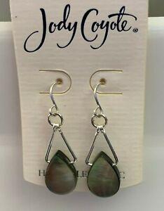 Jody Coyote Earrings JCE39 New hypoallergenic silver