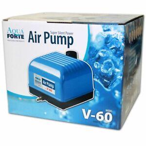 AQUAFORTE-AIR-PUMP-V60-Luftpumpe-Sauerstoffpume-Membranpumpe-Teich-Aquarium