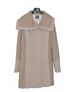 moda di lusso meglio stili di grande varietà Dettagli su TOY G. Cappotto monopetto donna con cintura