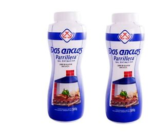 Dos Anclas Sal Parrillera 2 Pack | Grilling and BBQ Salt ...