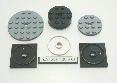 Free-Spinning Round Plate /& Brick 60036 Lego Turntable 4 x 4 Locking