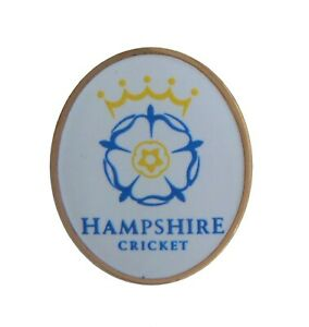 Hampshire County Club De Cricket Broche Pins