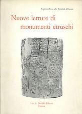 Nuove letture di monumenti etruschi