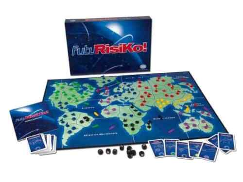 FutuRisiko Game table, New by EG, Italian Edition