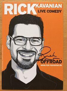 """1 Modestil Rick Kavanian Ak """"offroad """" Autogrammkarte Original Signiert Diversifiziert In Der Verpackung"""