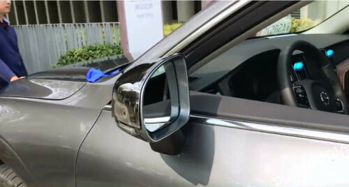 Accessories For Volvo XC60 2018 2019 Chrome Door Rearview Mirror Cover Trim Kit