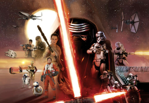 Komar Star Wars Fototapete 8-492 EP7 Collage 368 x 254 cm Wandbild Kleister