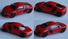 Majorette - Audi R8 rot mit schwarzen Felgen