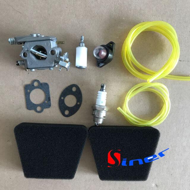 "Carburetor carb for Craftsman 358.350990 18/"" 42cc Gas Chainsaw"