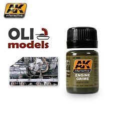 Weathering ENGINE GRIME Enamel 35ml - AK Interactive 082