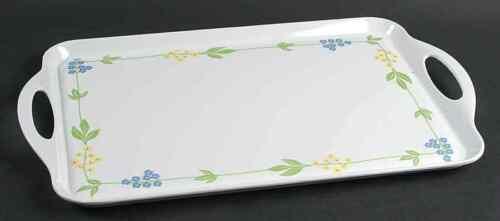 Corning SECRET GARDEN Handled Melamine Tray 7808951