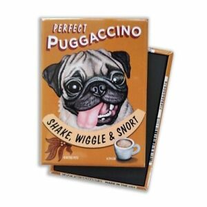 Retro-Dogs-Refrigerator-Magnets-PUG-COFFEE-Vintage-Advertising-Art