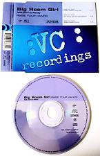 BIG ROOM GIRL FT DARRYL PANDY - Raise Your Hands (CD Single) (VG/VG)